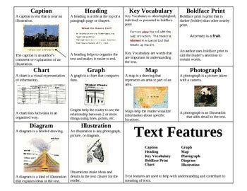 how texts teach what text features lessons tes teach