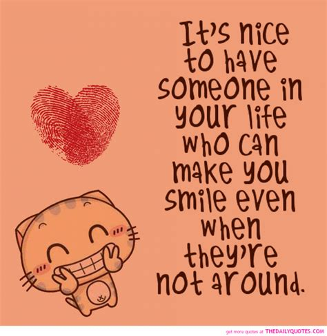 image nice of love love quotes it is nice to have someone in your day quote