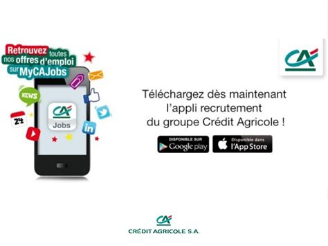 si鑒e du cr馘it agricole cr 233 dit agricole lance application recrutement