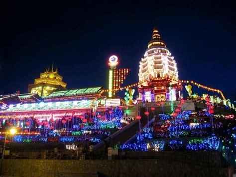 traffic in penang during new year penang pagoda during new year picture of penang