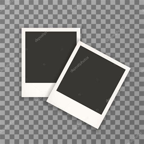 cornici fotografiche cornici fotografiche polaroid vettoriali stock