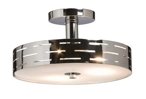 leeds contemporary semi flush mount ceiling light xtra