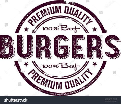 Creating Privacy In Backyard Vintage Burger Restaurant Menu Sign Stock Vector 175414586