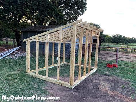 goat shelter diy project myoutdoorplans