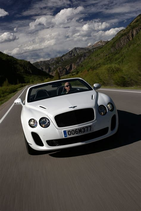 bentley sport convertible 2011 bentley continental supersports convertible on the
