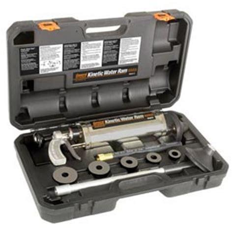 kinetic ram plumbing tools equipment drain pipe cleaning handheld