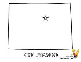 Colorado State Map Outline by Geography Colorado Outline Maps
