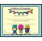 Certificate Templates For Elementary School – Professional