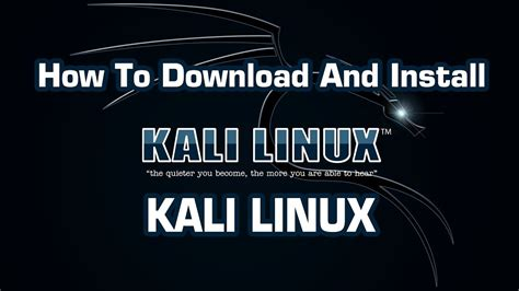 kali linux pc tutorial how to download kali linux in pc torrent file full