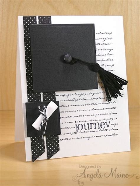 Handmade Graduation Cards - handmade graduation card graduation journey by arizona