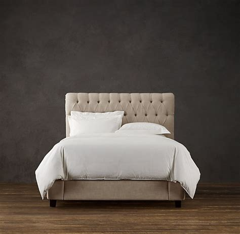 headboard love restoration hardware for the home