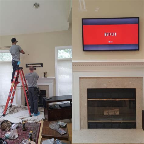 tv wall mount installation reasons  hire  licensed electrician