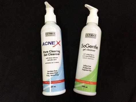 dermax professional sulfate free gel cleansers - Bädermax