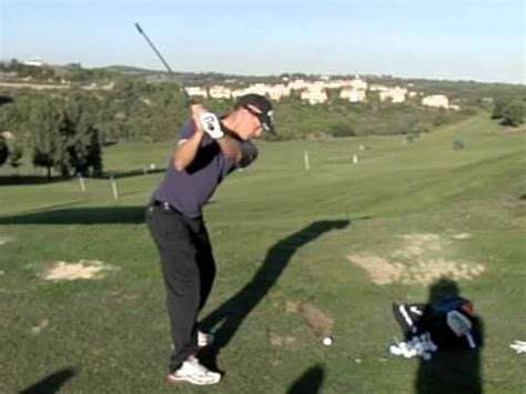 slow motion golf swing down the line alex noren golf swing in slow motion iron down the