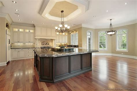 luxury kitchen island designs antique white kitchen cabinets design