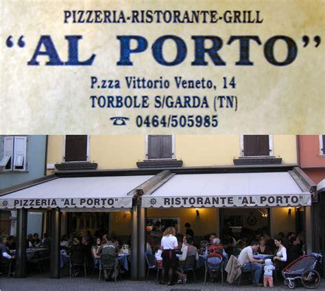 pizzeria al porto restaurant pizzaria al porto torbole