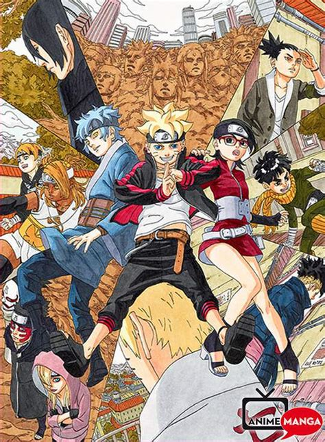 boruto jump festa boruto parte del jump special anime festa anime e manga