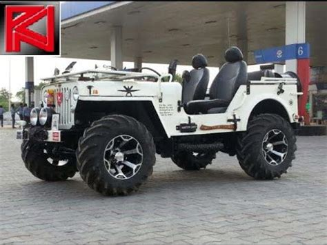 jeep modified classic 4x4 modified jeeps mahindra classic thar willys wrangler