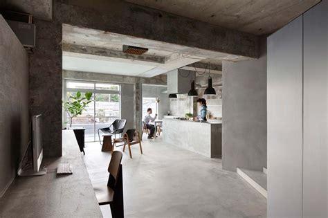 Concrete Apartments by Interior Design A Concrete Apartment