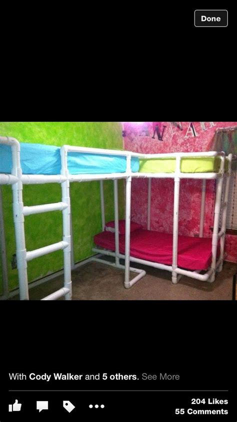 Pvc Bunk Bed Plans Pinterest The World S Catalog Of Ideas