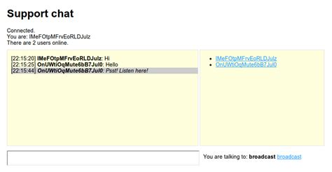 simple node js chat server github fabryz support chat a simple chat system with