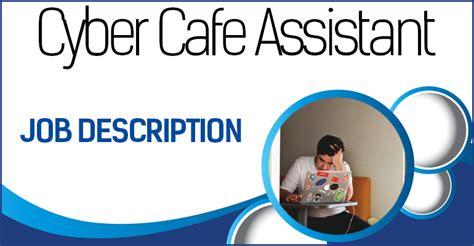 cafe assistant description waitress description descriptions hub