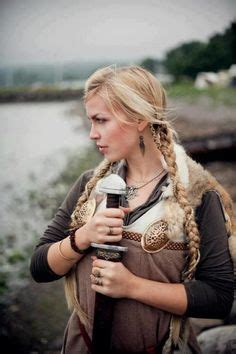 viking anglo saxon hairstyles viking beauty