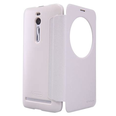 Flip Cover Zenfone Ori jual nillkin sparkle window flip cover asus zenfone 2 5 5 quot white indonesia original harga
