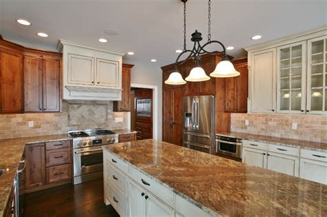 Antique White Stain Kitchen Cabinets by Antique White Stained Cabinets