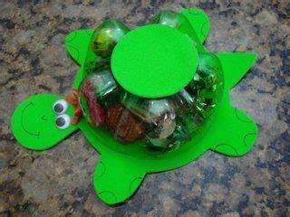 maquetas de tortugas con botella tortuga con base de botella plastica infantiles