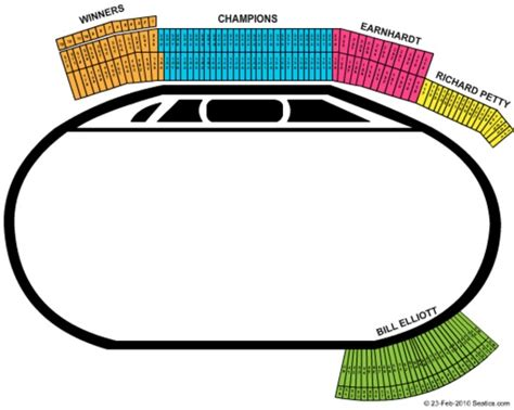 best seats at atlanta motor speedway atlanta motor speedway tickets in hton seating