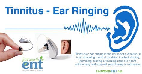 vestibular tinnitus tinnitus and hearing loss treatment at fort worth ent