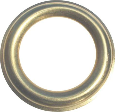 Polished Brass Curtain Eyelets Hanolex