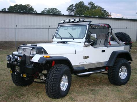 jeep yj custom parts custom jeep wrangler yj no reserve for sale photos