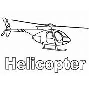 Coloring Page  Helicopter Pages 8