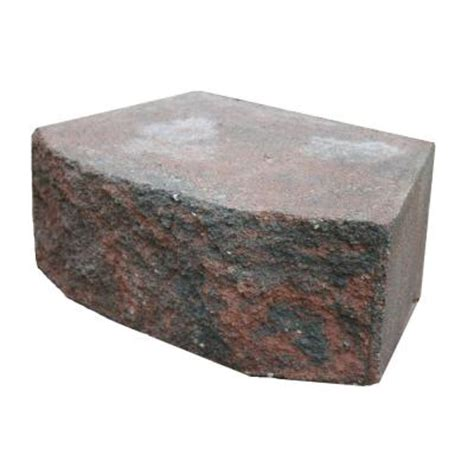 basalite 16 in charcoal retaining wall block