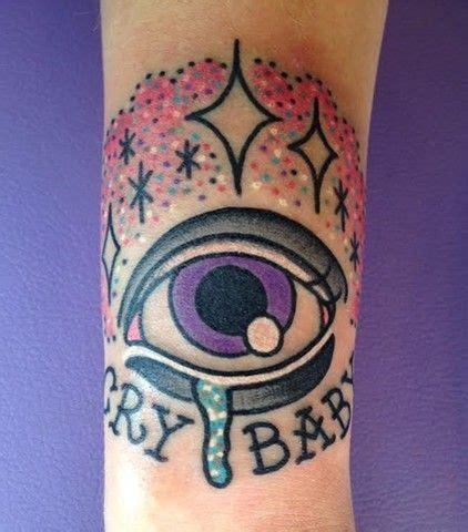 martinez tattoo designs kawaii cry baby eye melanie martinez