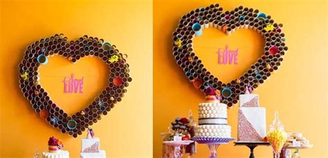 acornos echos de material reciclable decoraci 243 n de fiestas infantiles con material reciclado