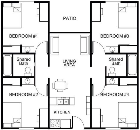 housing floor plans image result for accommodation floor plans