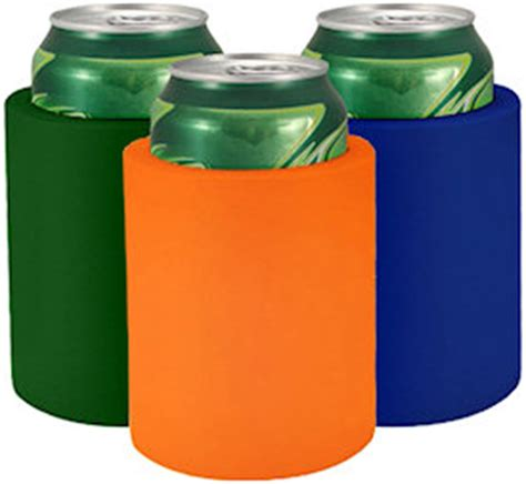 Blank Foam Can Coolers   Custom Koozies   Cheap Personalized Wedding Koozies