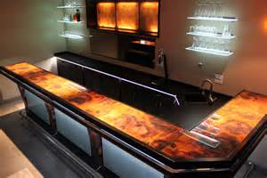 How Is A Bar Top A Rojo Y Negro Copper Bar Top