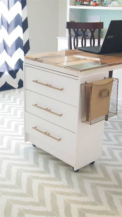 ikea folding craft table 12 awesome diy craft tables with free plans shelterness