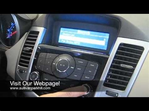 gm dvd player disc format error pairing bluetooth in 2011 chevy cruze youtube