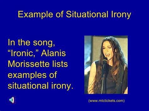 exle of sarcasm pics for gt exles of situational irony
