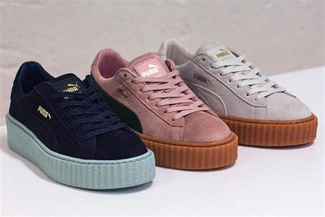 Sepatu Rihanna Mid creepers by rihanna three new colorways sneakers