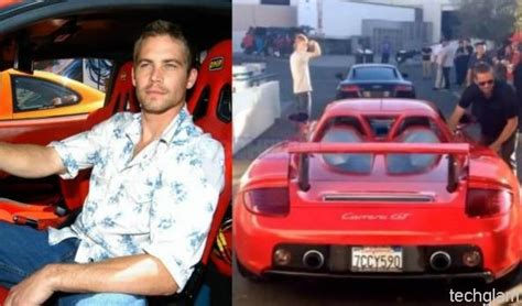 paul walker blue porsche red porsche carrera gt paul walker image 82