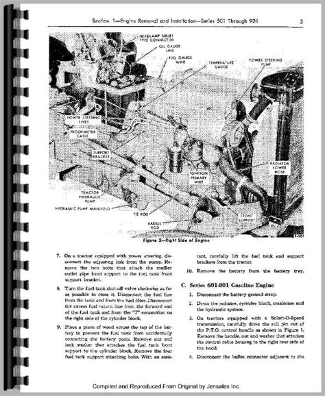 Ford 4000 Tractor Service Manual