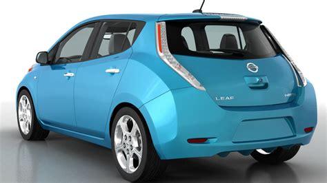 leaf nissan 2013 nissan leaf 2013 3d model max obj cgtrader com