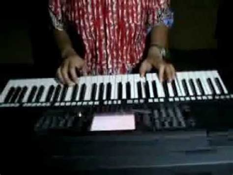 tutorial piano lagu bunda butiran debu rumor versi cara mudah main keyboard nya