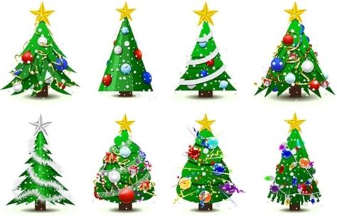 vector christmas tree tutorial christmas tree vector free vector download 9 933 free